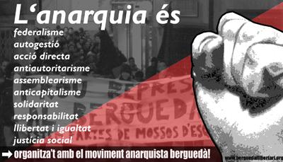 cartell Berga anarquista