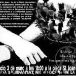 Berga: exigim llibertat per la Núria