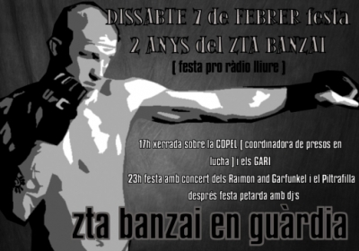 La Zona Temporalment Alliberada Banzai fa dos anys!