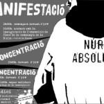 9 de maig: mani per la llibertat de la Núria