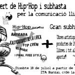 [Manresa] Hip-hoop i subhasta per una ràdio lliure