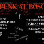 Demà i dissabte: punk al bosc!