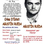 [Barcelona] Conferència sobre el company Agustín Rueda