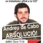 Solidaritat amb un company de la CGT de TMB