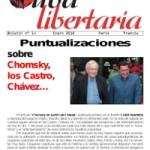 Acaba de sortir el número 14 de Cuba Llibertària