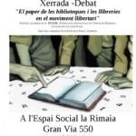 [BCN] Biblioteques i llibreries i el moviment llibertari