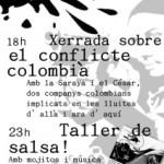 [Berga] Dissabte 10 de juliol: xerrada sobre el conflicte colombià