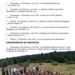 Xerrades i protestes de l'exmaqui Joan Busquets a Catalunya (30 de setembre – 8 d'octubre)