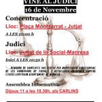 [Manresa] Solidaritat amb les companyes de la CNT
