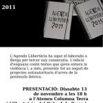 Dissabte a Berga presentació de l'Agenda 2011 i del llibre Què pagui Pujol!