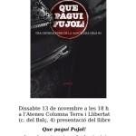 [Berga-Manresa] Presentació del llibre: Que pagui Pujol!