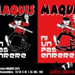 """Ja tenim les samarretes """"Maquis 2011"""""""