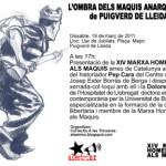 El 19 de març comencen els actes de la Marxa-Homenatge als Maquis d'enguany