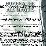 13, 14 i 15 d'agost marxa en homenatge als maquis a Berga