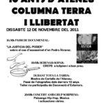 [Berga] Desè aniversari de l'Ateneu Columna Terra i Llibertat
