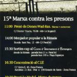 Demà dissabte, 31 de desembre, marxes contra les presons