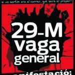 Demà, dijous 29 de març: Vaga General