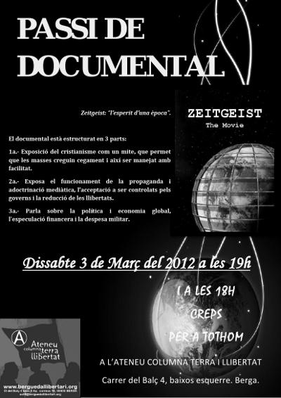 Passi del documental Zeitgeist