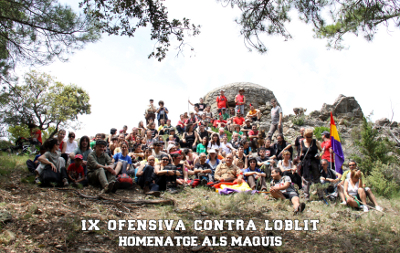IX Ofensiva contra l'oblit, XV Marxa-homenatge als maquis
