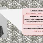 [Manresa] Cafeta minero-flamenca al CSO La Temenda