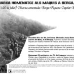 [28 i 29 de juliol] XV Marxa-Homenatge Maquis (Berga-Peguera-Capolat-Berga)