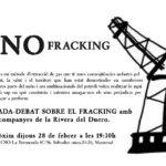 Dijous 28 de febrer: xerrada-debat sobre el fracking a la Tremenda