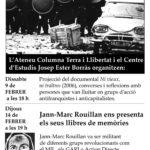 [Berga] Jann-Marc Rouillan presenta les seves memòries