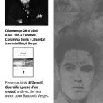 """<span style=""""color: #ff0000;""""><strong>[Suspès]</strong></span> Joan Busquets presenta la reedició corregida de les seves memòries a Berga"""
