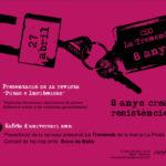 Activitats al CSO La Tremenda pel seu 8è aniversari