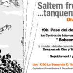 """Divendres 14 de juny: """"saltem fronteres… tanquem els CIES"""" a la Tremenda"""