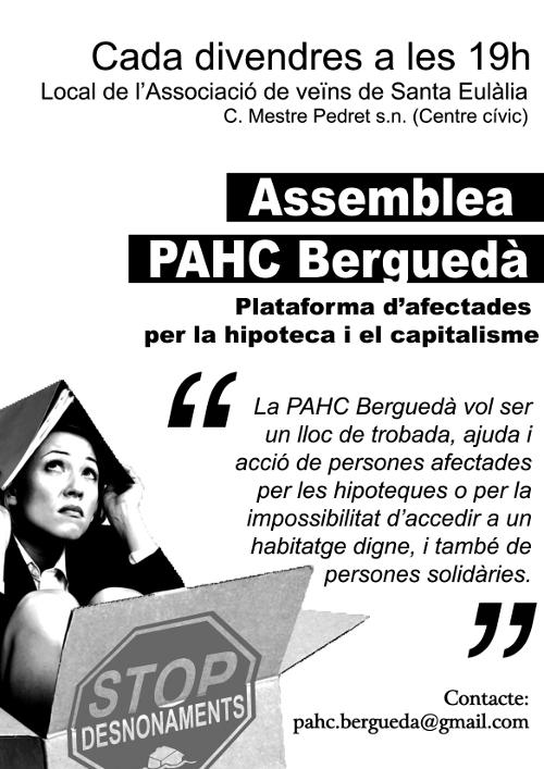Assemblees de la PAHC Berguedà