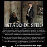 Dijous 18 de juliol: cine club social <em>Estado de sitio</em> a l'Ateneu la Sèquia