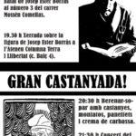 [Berga] Centenari del naixement de Josep Ester Borràs i castanyada