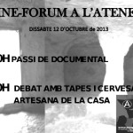 El 12 d'octubre cinefòrum a Berga