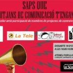 Dissabte 19 d'octubre a les 18h: Jornada de contra-informació a l'Ateneu la Sèquia