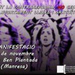 [Manresa] El 8 de novembre, sortim al carrer per l'avortament lliure i gratuït!!
