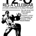 12 d'octubre: res a celebrar
