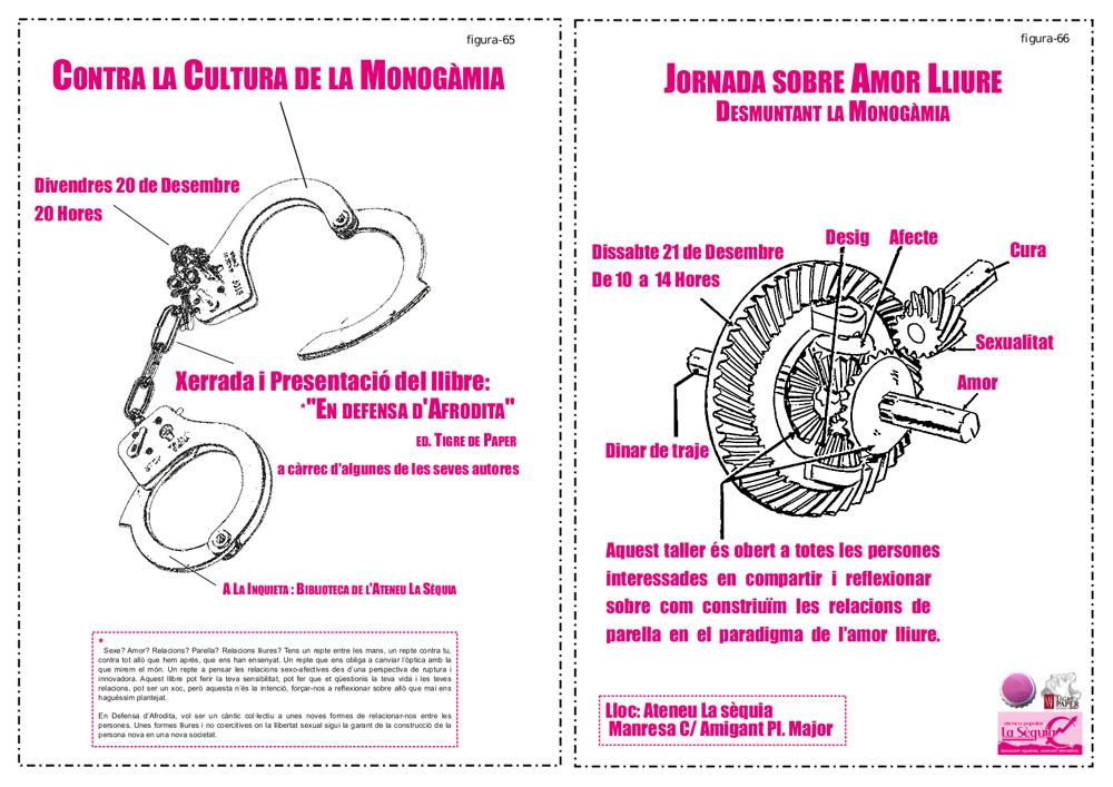 Cartells d'Amor lliure i autodefensa feminista