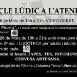 Segueixen les activitats lúdiques a l'Ateneu Columna Terra i Llibertat