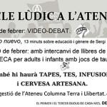 Més activitats a l'Ateneu Columna Terra i Llibertat de Berga