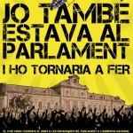 29 de març: manifestació a Barcelona en suport a les encausades pel bloqueig al Parlament