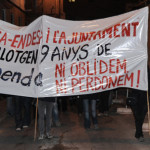 Crònica de la manifestació en suport al CSO La Tremenda