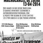 27 de març a l'Ateneu la Sèquia: xerrada i kafeta solidària amb la marxa a Zuera
