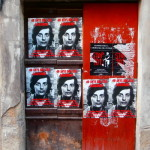 Cartells per la memòria d'en Puig Antich a les parets de Manresa