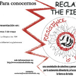 """5 de Maig: presentació de """"Reclaim the fields"""" a l'Ateneu Popular la Sèquia"""