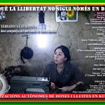 23 de maig: xerrada del moviment de dones kurdes al CSO Valldaura