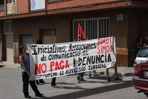 Tercer escratxe contra Iniciatives Berguedanes de Comunicació. SL realitzat el 14 de juny passat