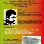 Segon Torneig Memorial Agustín Rueda