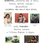 26 de juny: xerrada i sopador llibertari colombià a l'Ateneu la Sèquia