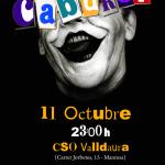 Cartell del Cabaret 2014